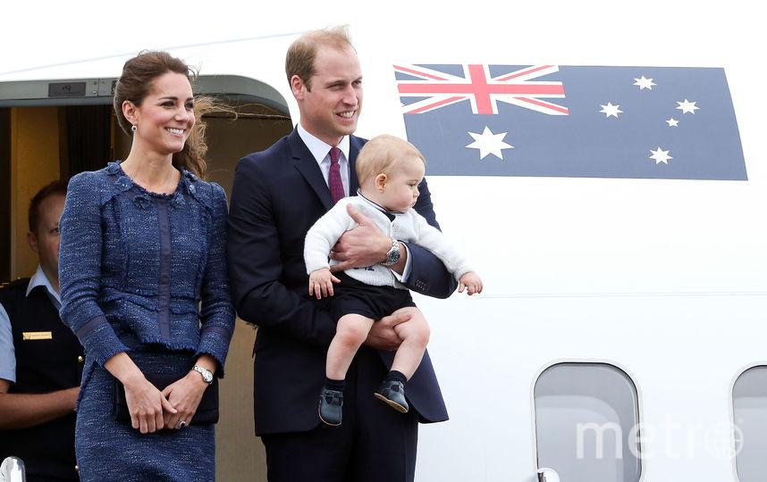 Во время визита в Новую Зеланию в 2014-м году. Фото Getty
