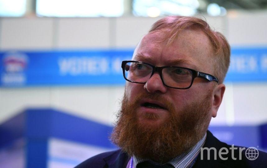 Милонов. Фото РИА Новости