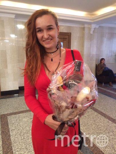 Мария Зайцева с подарком. Фото предоставила Мария Зайцева