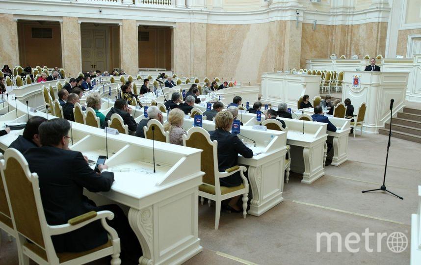 """ЗакС  переименует """"Парнас"""" в """"Сергиевское"""". Фото assembly.spb.ru"""