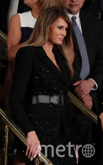 Меланья Трамп появилась перед конгрессом в платье за 10 тысяч долларов. Фото Getty
