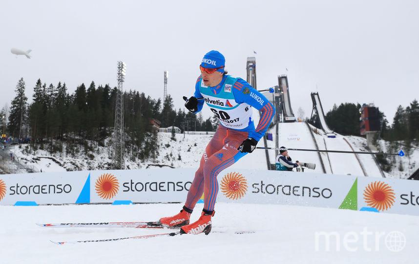 Российский лыжник Александр Бессмертных. Фото Getty