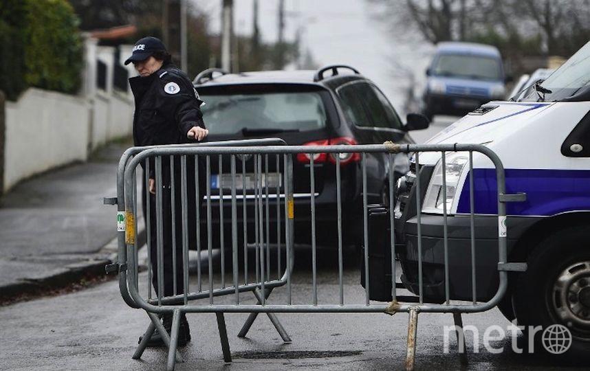 Французские полицейские. Фото AFP