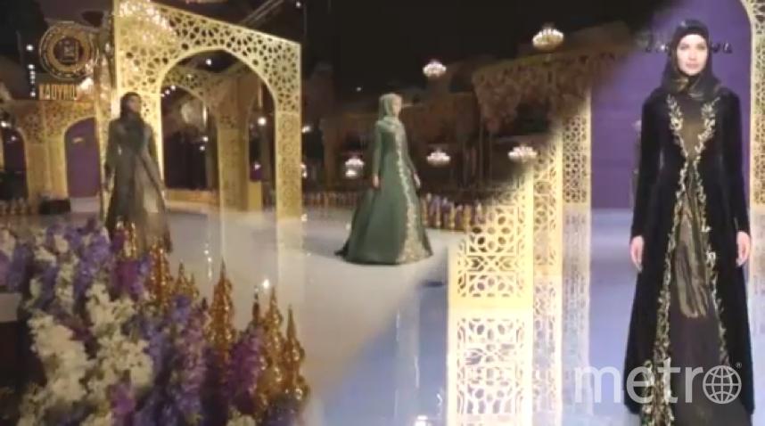Модный показ дочери Кадырова.