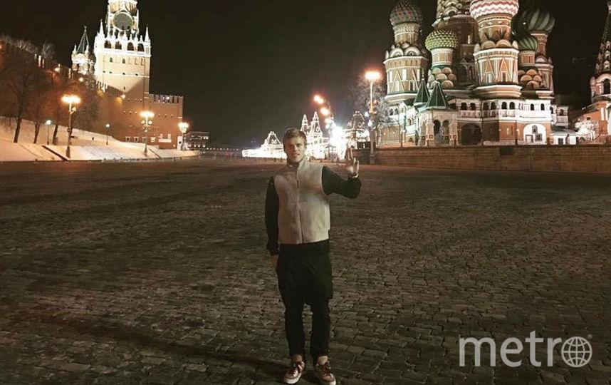 Кокорин в Москве.