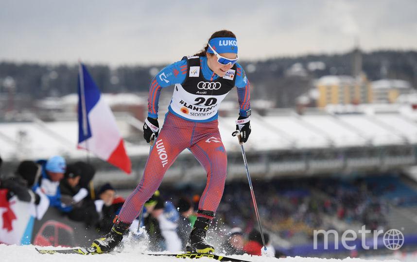 Российская лыжница Юлия Белорукова. Фото Getty