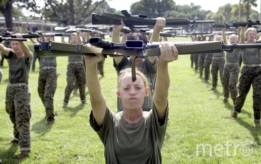 Морская Пехота США. Фото Getty