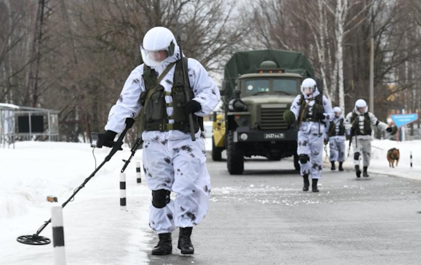 Военные сапёры. Фото РИА Новости