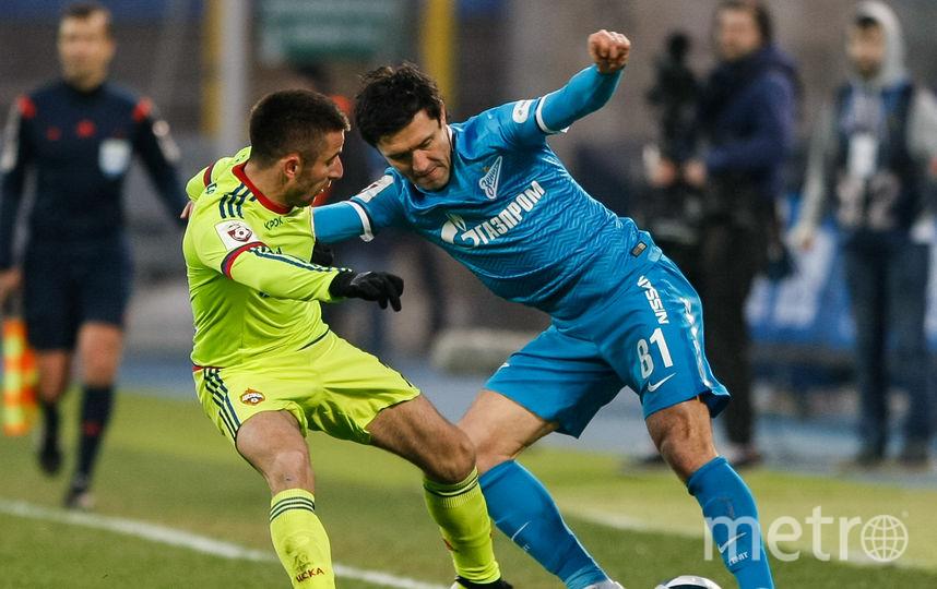 Защитник «Зенита» Жирков вновь сыграет против бывшего клуба. Фото Getty