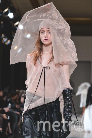 Показ Ann Demeulemeester на Неделе моды в Париже. Фото Getty