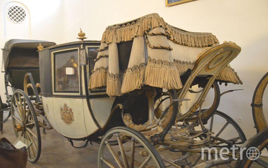 """в Царском селе представили коллекцию экипажей, принадлежащих императорской семье. Фото Софья Сажнева, """"Metro"""""""