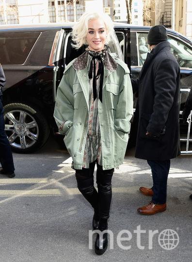 Кэти Перри до стрижки. Фото Getty