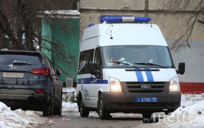 Машина полиции в Москве (архивное фото). Фото РИА Новости