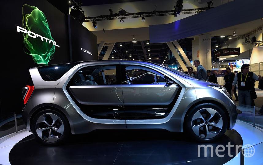 Тестовый беспилотный автомобиль. Фото Getty