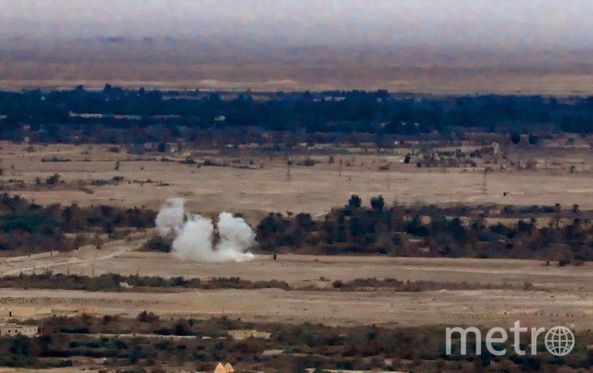 Военные действия в Пальмире (архивное фото). Фото AFP