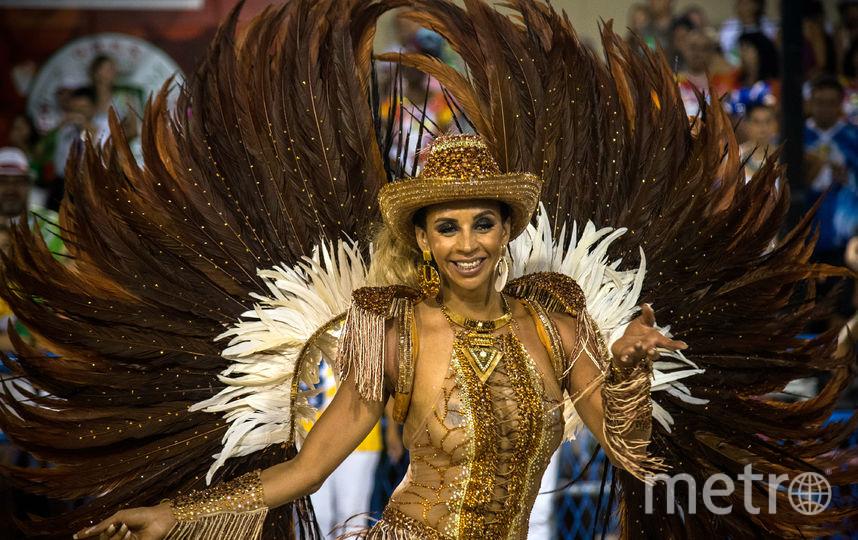 Карнавал в Рио. 2017. Фото Getty