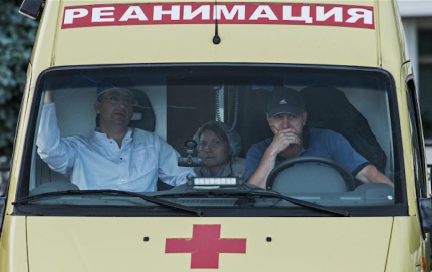 Реанимационный автомобиль. Фото РИА Новости