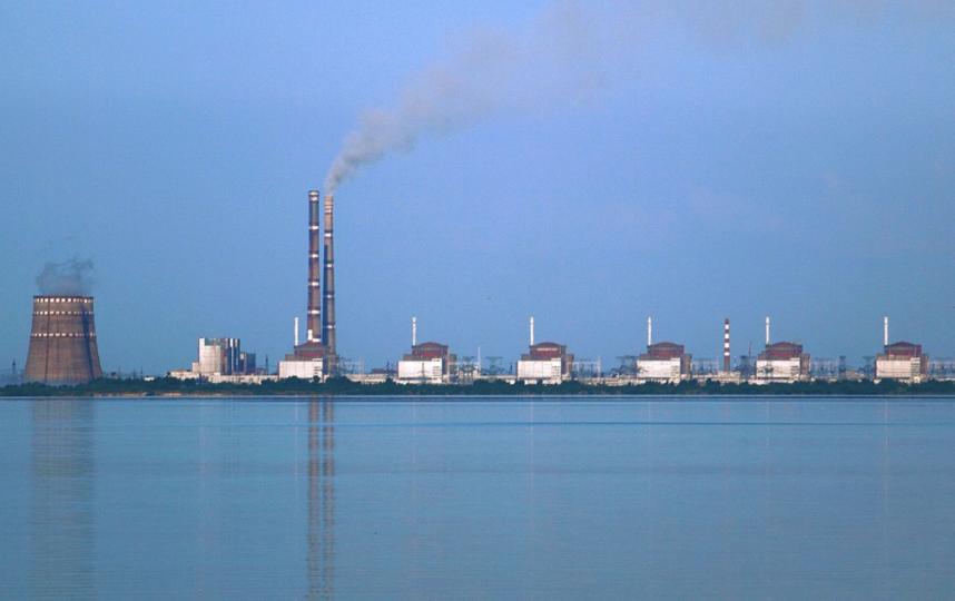 Запорожская АЭС. Фото Wikipedia.