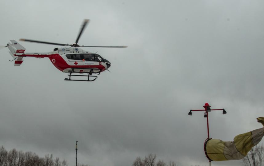 Вертолёт МАЦ. Фото Официальный сайт московского авиационного центра.
