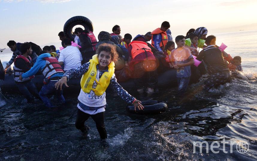 Сирийские беженцы. Фото Getty