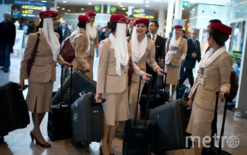 Стюардессы авиакомпании Emirates. Фото Getty