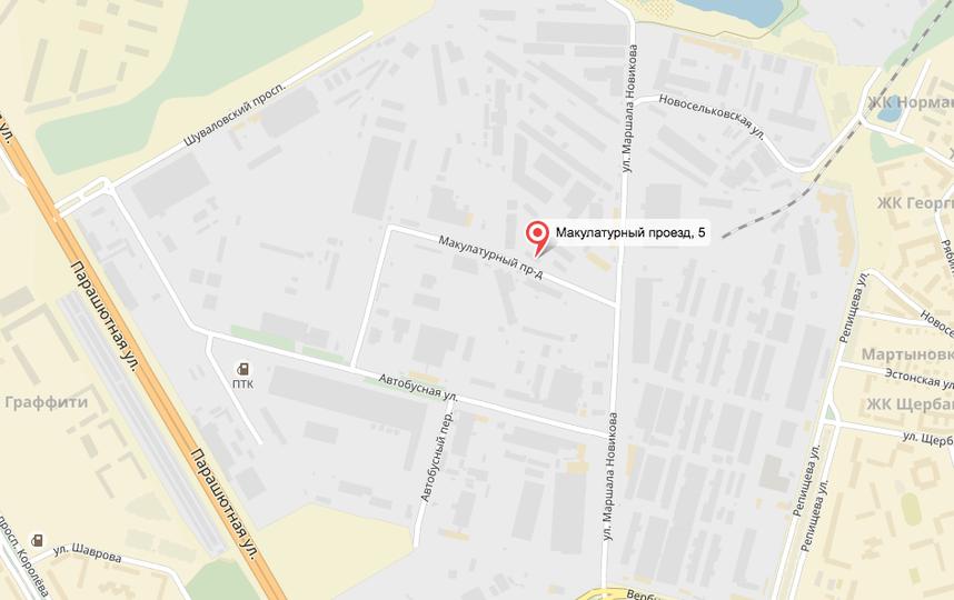 В северной столице потушили пожар наскладе макулатуры