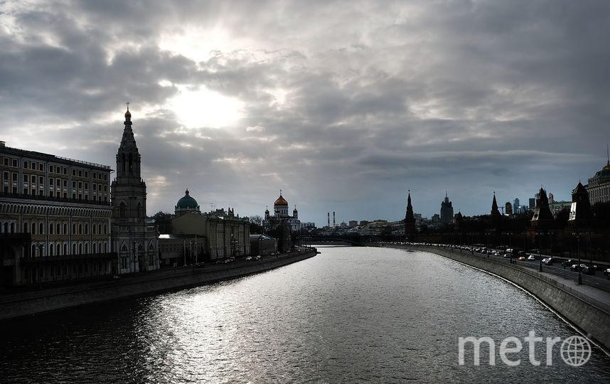 Вид на Храм Христа Спасителя в Москве. Фото Getty