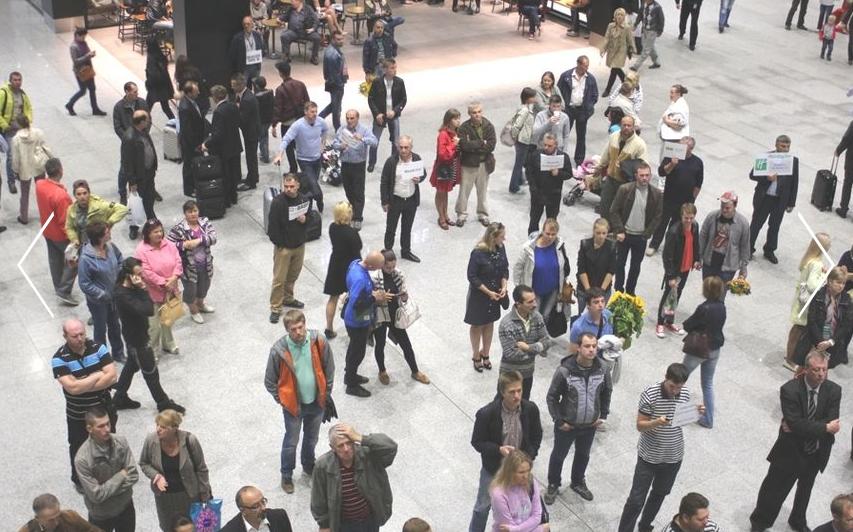 """Аэроэкспресс будет ходить от Витебского вокзала. Фото """"Metro"""""""