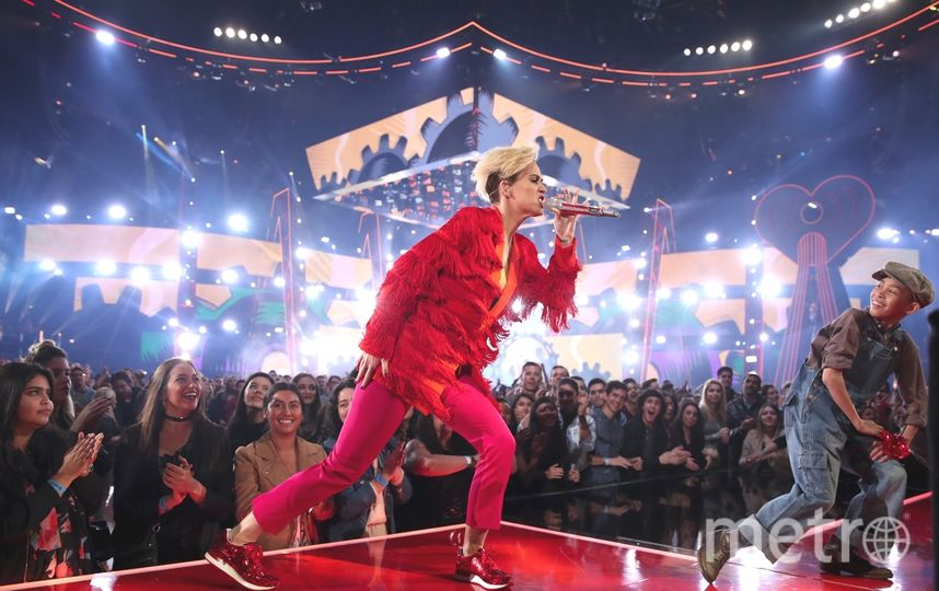 Кэти Перри на шоу. Фото Getty