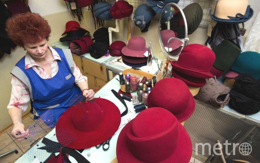 """Исторически сложилось, что Петербург – самый шляпный город. Фото """"Metro"""""""