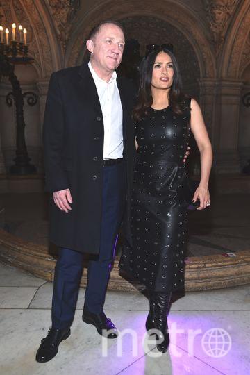 Сальма Хайек с супругом. Фото Getty