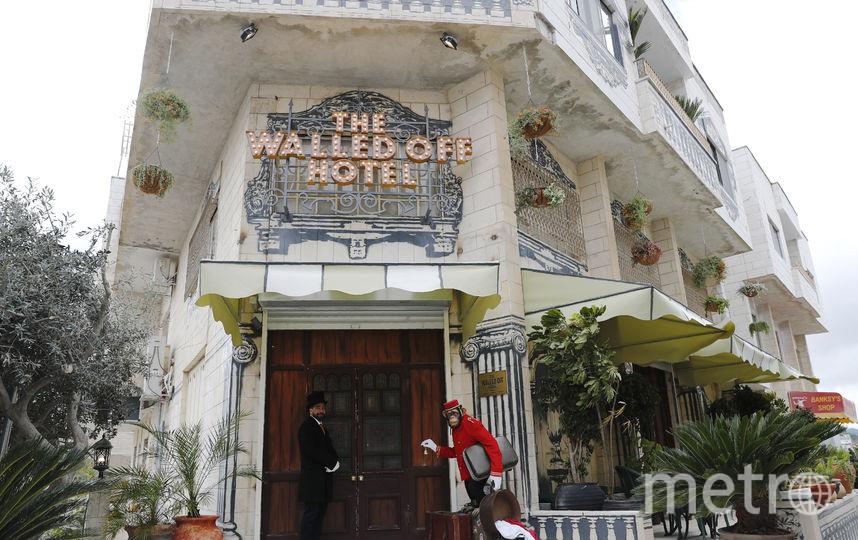 Вход в отель. Фото AFP