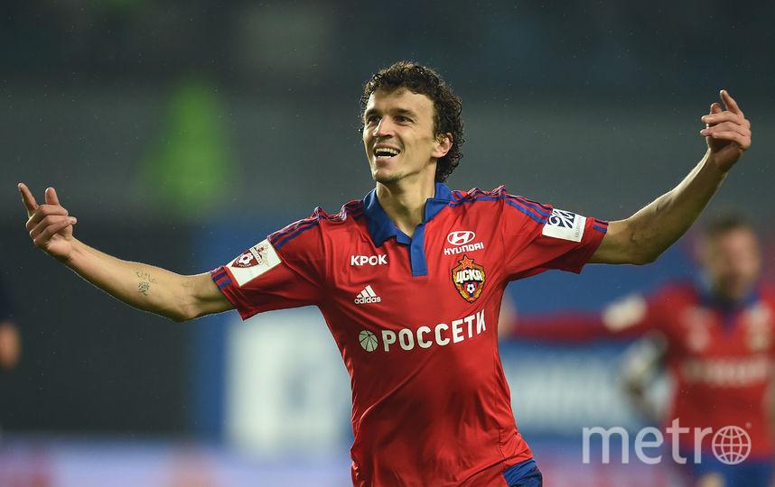 Футболист ЦСКА Роман Ерёменко. Фото Getty