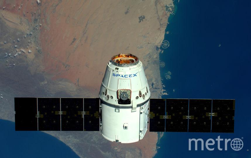 Космический корабль Dragon компании SpaceX. Фото Getty