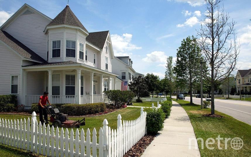 Дом с забором. Фото Getty
