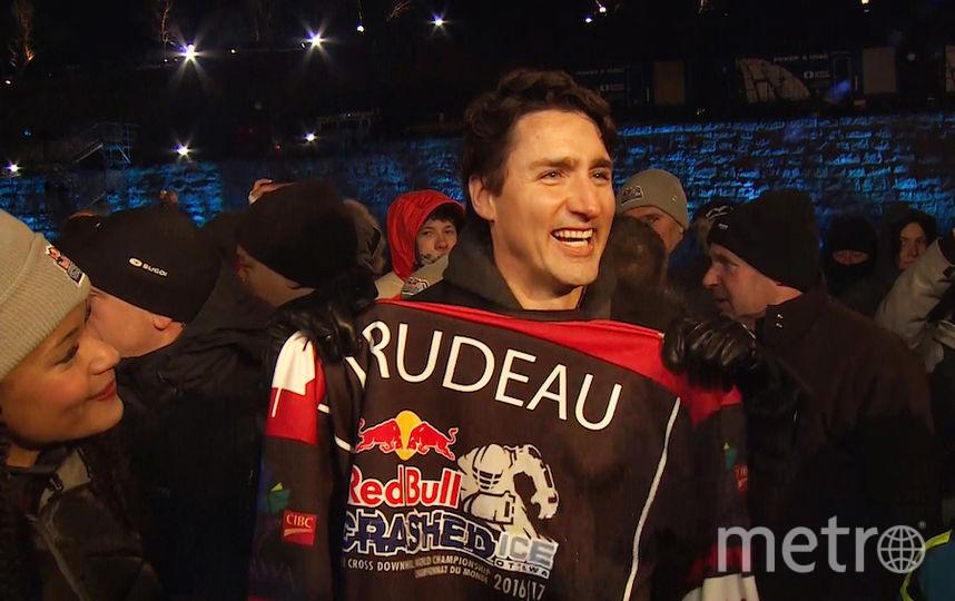 Посмотреть на гонку пришёл премьер-министр Канады Джастин Трюдо. Фото redbullcontentpool.com
