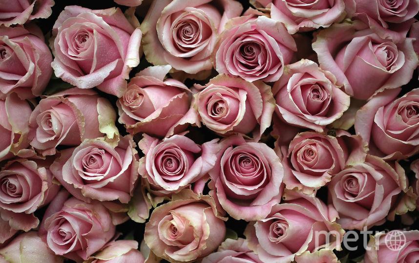 Мужчина украл 50 роз. Фото Getty