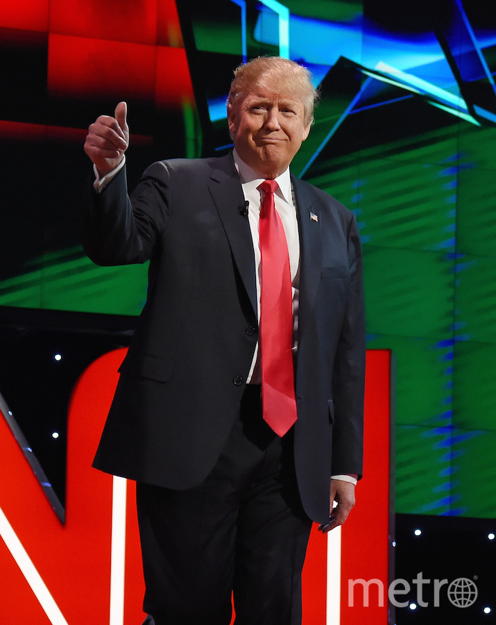 45-ый президент США Дональд Трамп. Фото Getty