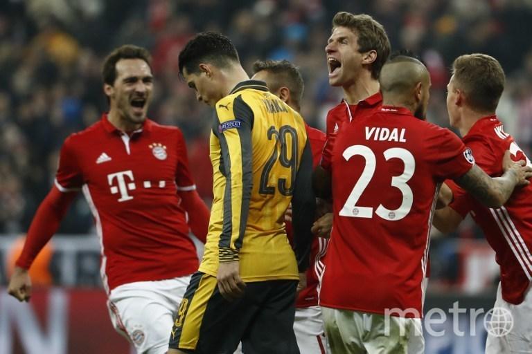 """Прошлый матч """"Бавария"""" - """"Арсенал"""". Фото AFP"""