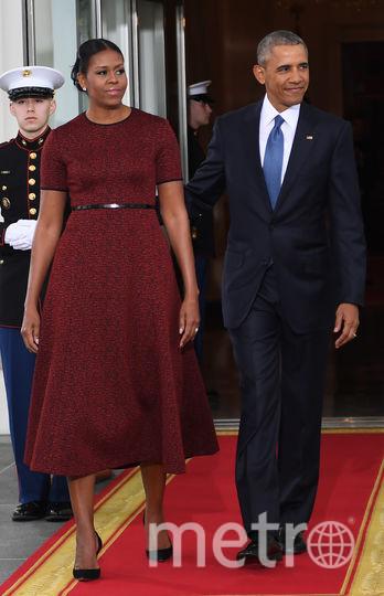 Барак Обама и Мишель Обама. Фото AFP