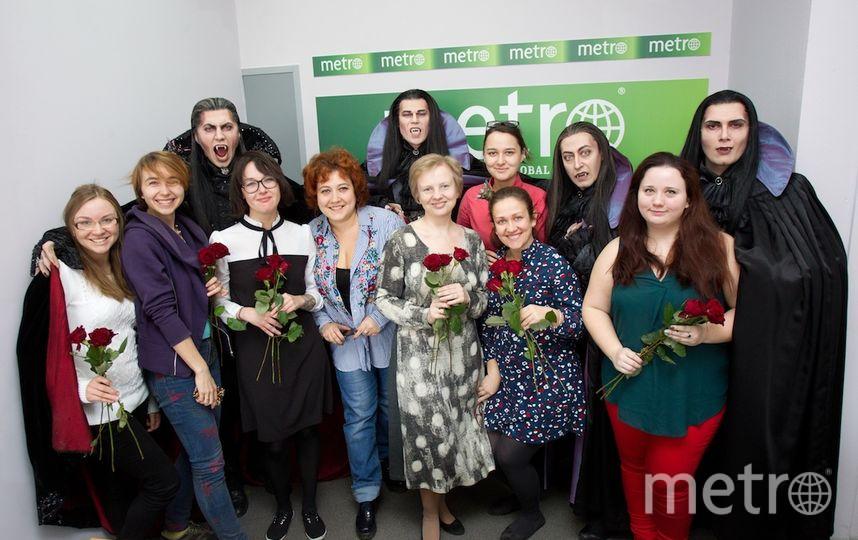 """Вампиры в редакции. Фото Василий Кузьмичёнок, """"Metro"""""""