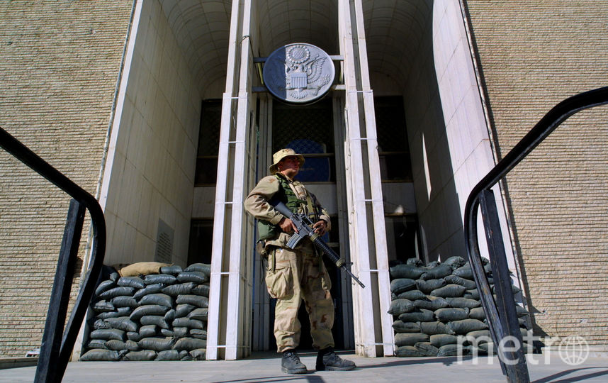 Посольство США в Кабуле. Фото Getty