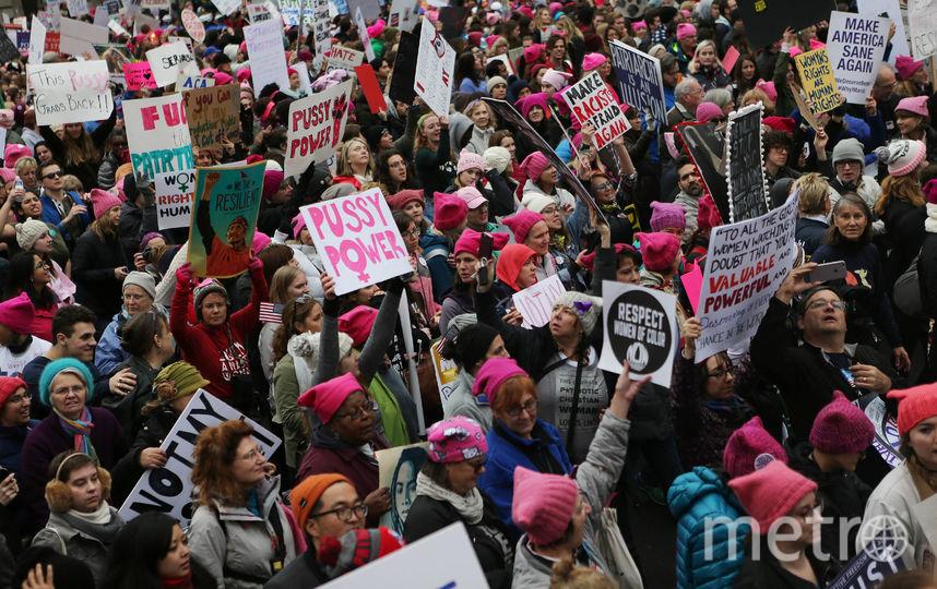 "Январский ""Женский марш"" в Вашингтоне. Фото Getty"