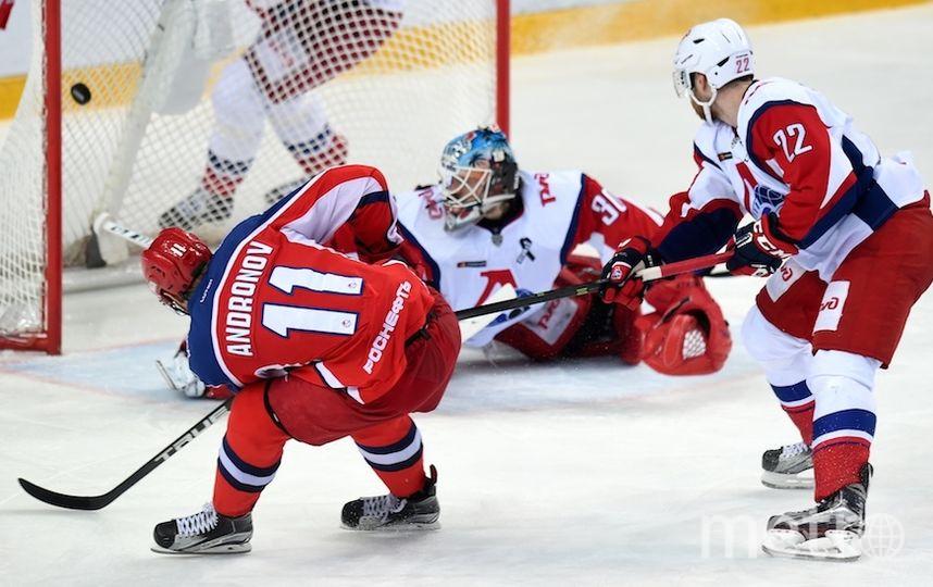 ЦСКА повёл в серии. Фото photo.khl.ru | Юрий Кузьмин