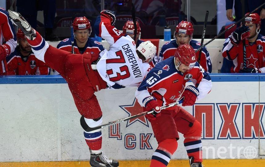 Следующий матч армейцы проведут 10 марта. Фото photo.khl.ru | Юрий Кузьмин