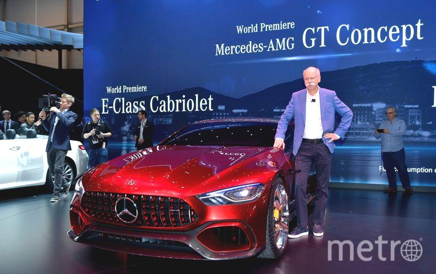 Автосалон в Женеве-2017. Mercedes-AMG GT Concept. Фото Getty