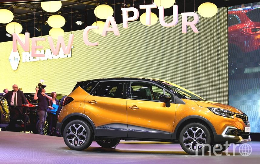 Renault Captur. Фото Getty