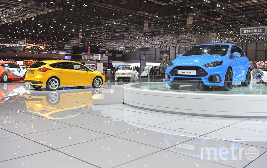 Автосалон в Женеве-2017. Ford Focus RS. Фото Getty