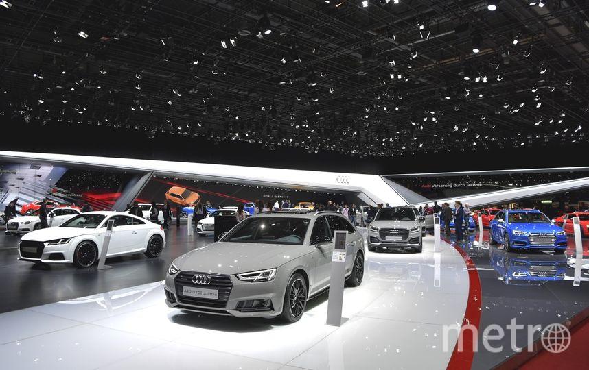 Автосалон в Женеве-2017. Audi. Фото Getty
