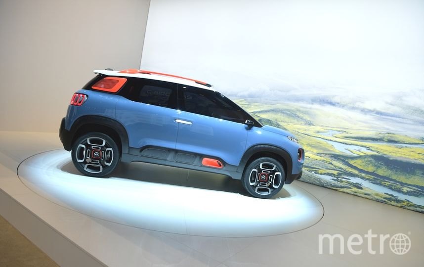 Автосалон в Женеве-2017. Citroen C-Aircross. Фото Getty